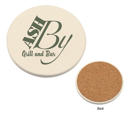 Personalized Round Absorbent Coasters