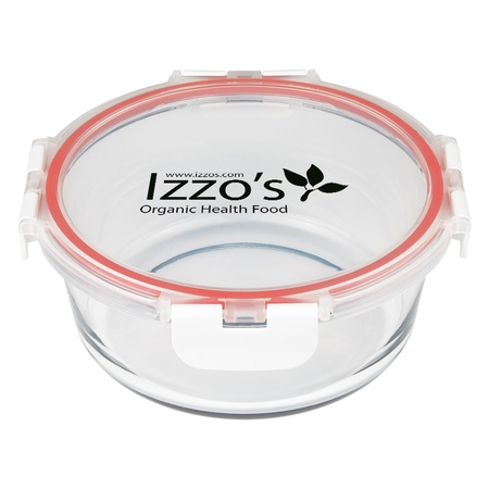 Promotional Round Glass Food Containers