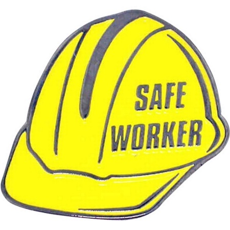 Safe Worker Lapel Pin