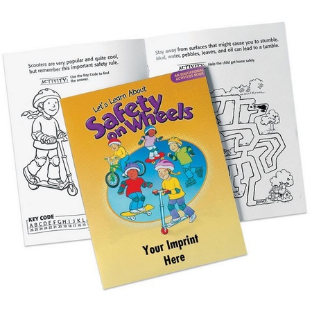 Safety On Wheels Activities Book