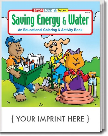 Saving Energy & Water Coloring & Activity Book
