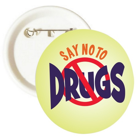 Say No To Drugs Buttons