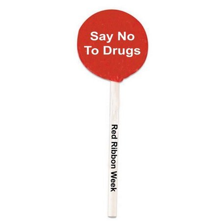Say No To Drugs Lollipops