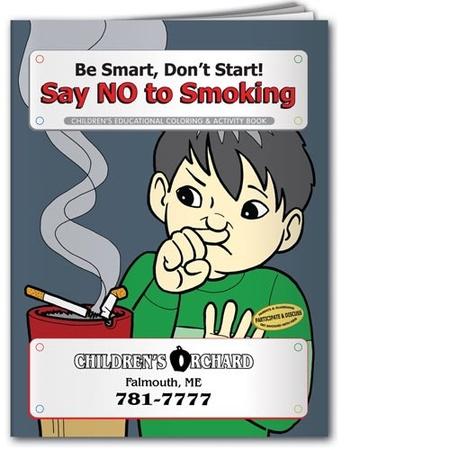 Say NO to Smoking Coloring & Activities Book