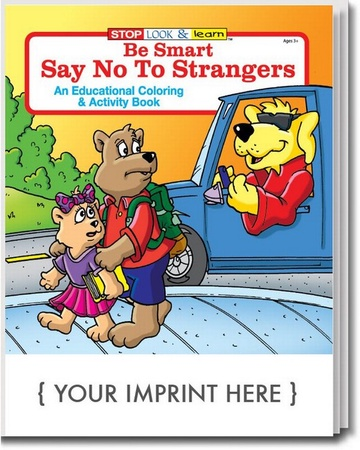 Say No To Strangers Coloring & Activities Book