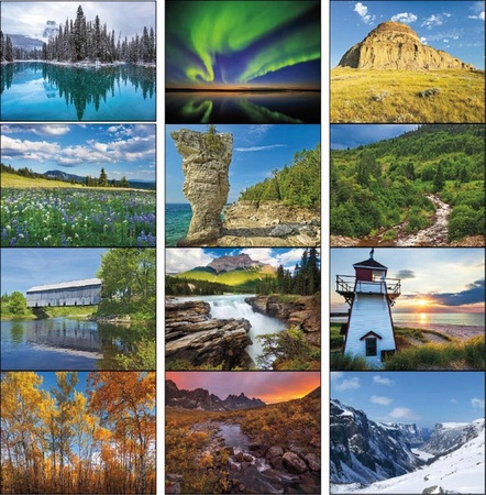 Scenic Canada Calendar - 2020