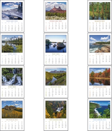 Scenic Stick Up 2022 Promotional Calendars
