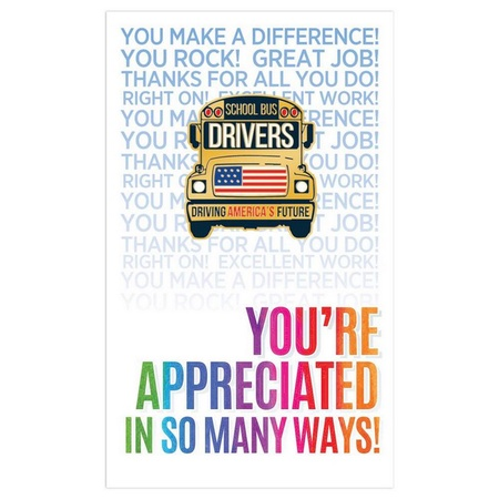 School Bus Drivers: Driving America's Future Lapel Pins