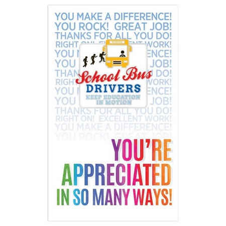 School Bus Drivers Keep Education In Motion Lapel Pins