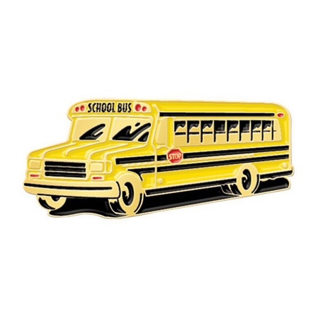 School Bus Lapel Pins
