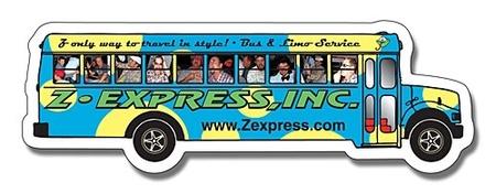 Custom School Bus Magnets