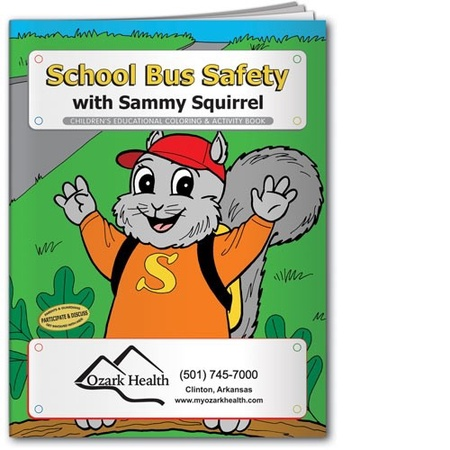 School Bus Safety Coloring & Activity Book