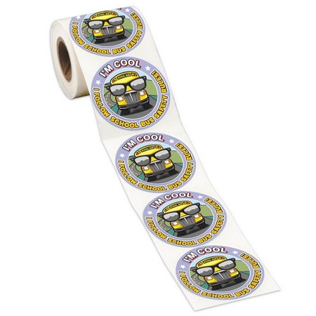 School Bus Safety Rules Stickers