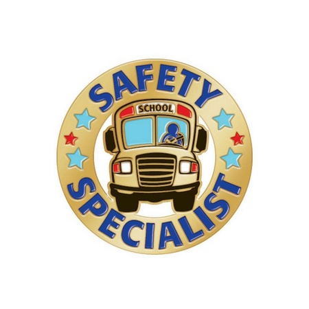 School Bus Safety Specialist Lapel Pin