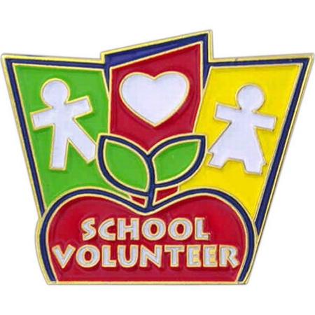 School Volunteer Lapel Pins