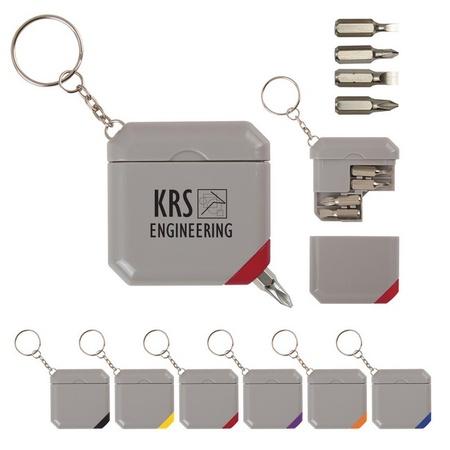 Screwdriver Kit Keychain