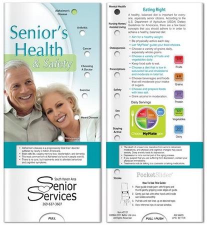 Senior's Health & Safety Info Slider