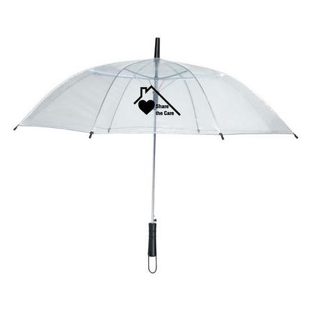 Share The Care Clear Umbrella