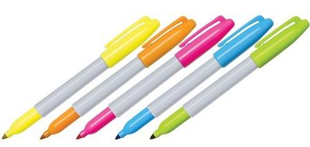 Sharpie Neon Fine Point Marker