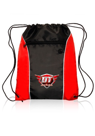 Side Color Custom Drawstring Backpacks
