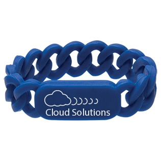 Customized Silicone Link Wristbands