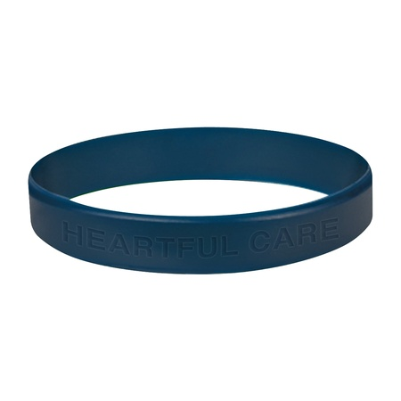 Single Color Silicone Bracelet with Laser Engraving