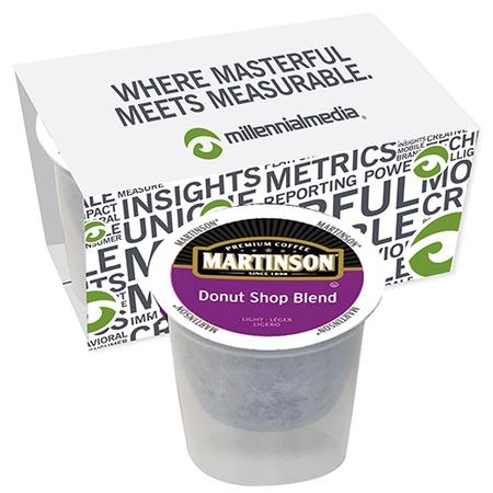 Single Serve Coffee Cup - Custom 2 Pack