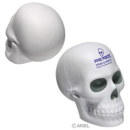 Promotional Skull Stress Balls