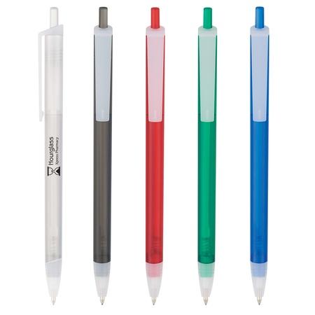 Slim Click Imprinted Translucent Pens