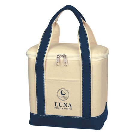 Small Cotton Canvas Custom Cooler Bags