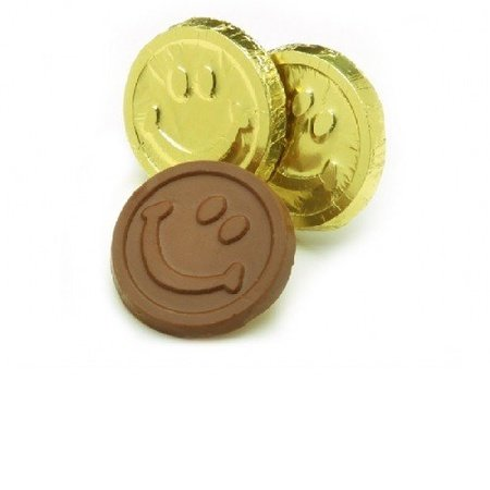 Smile Face Chocolate Gold Coins