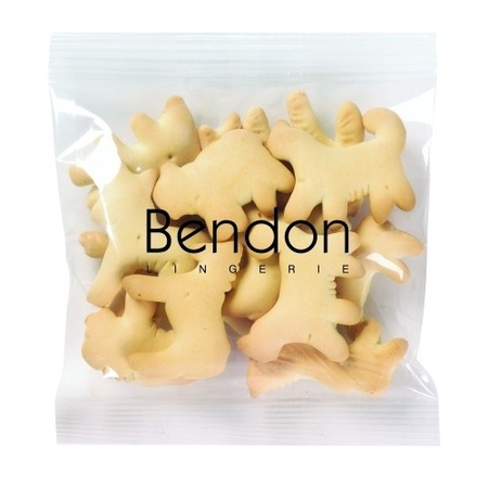 Custom Animal Crackers Snack Bags