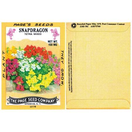 Snapdragon Flower Seed Packs