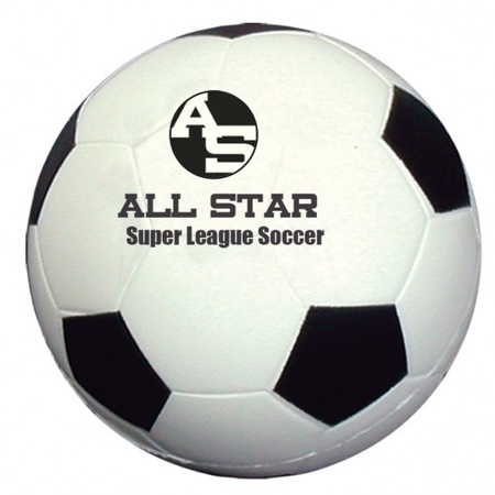 Custom Soccer Ball Stress Balls