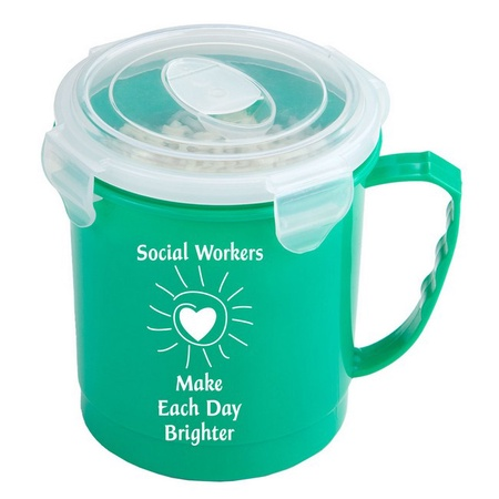 Social Workers Food Container Mug