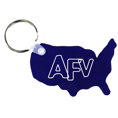 Soft USA Promotional Key Fobs