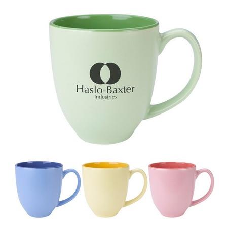 Personalized 14 oz. Sorbet Bistro Mugs