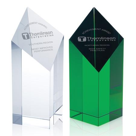 Custom Etched Spectra Pillar Award