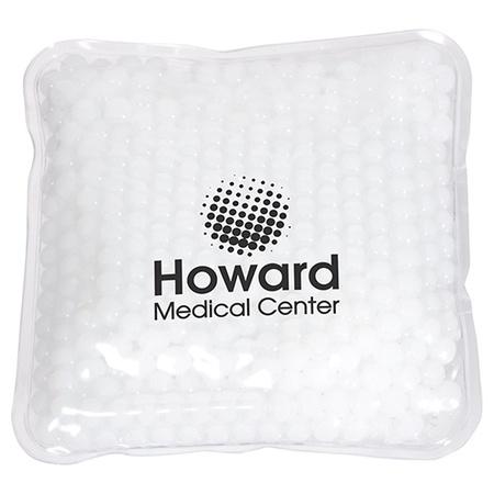 Custom Square Aqua Pearl Hot/Cold Pack