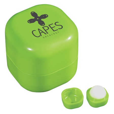 Square Lip Moisturizer Cube with Personalization