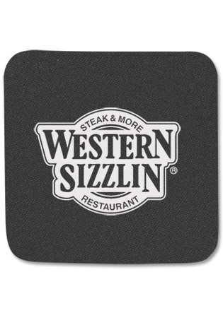 Square Promotional Foam Drink Coasters