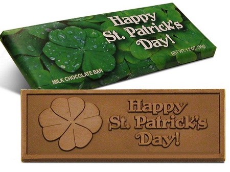 St. Patrick's Day Chocolate Bars