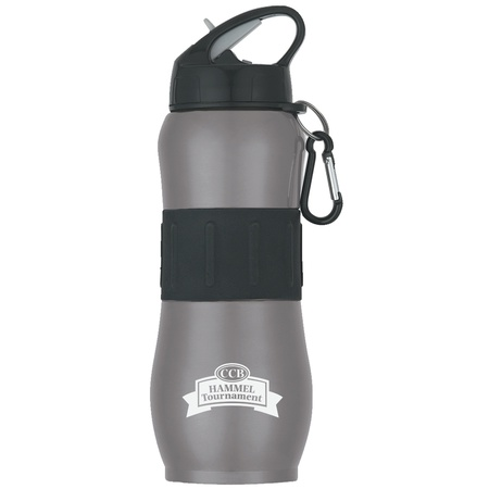 Stainless Steel Sport Grip 28 oz. Promotional Bottles