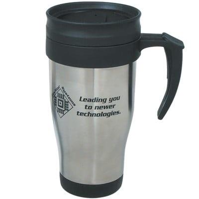 Custom 16 oz. Stainless Steel Travel Mugs