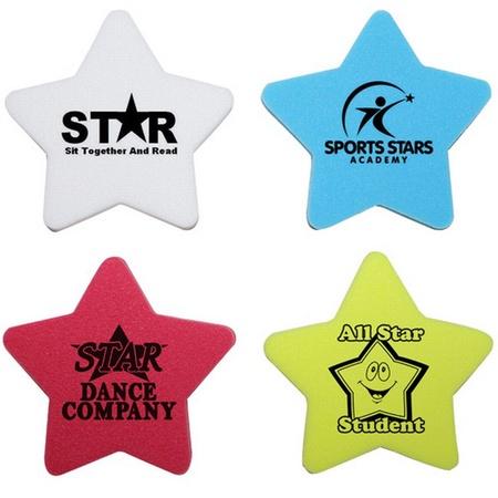 Custom Star Erasers