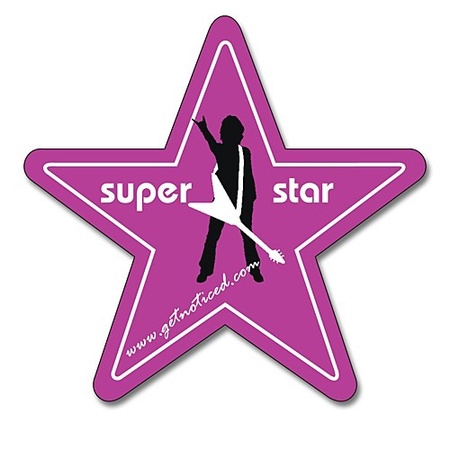 Customized Star Magnets