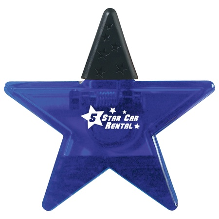 Star Shape Promotional Clips