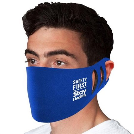 Stretchable Polyester Face Mask with Imprint