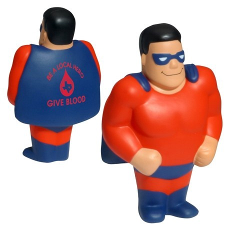 Personalized Super Hero Stress Balls