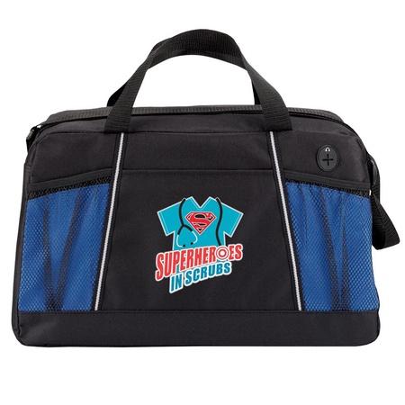 Superheroes in Scrubs Duffel Bag Staff Gift